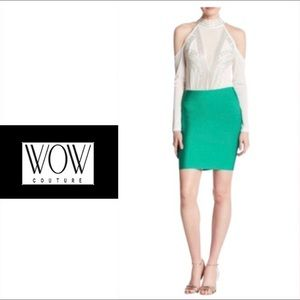 Wow Couture Green Skirt